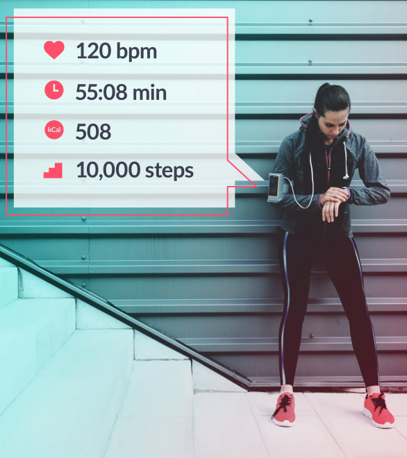 fitness tracking, health monitoring