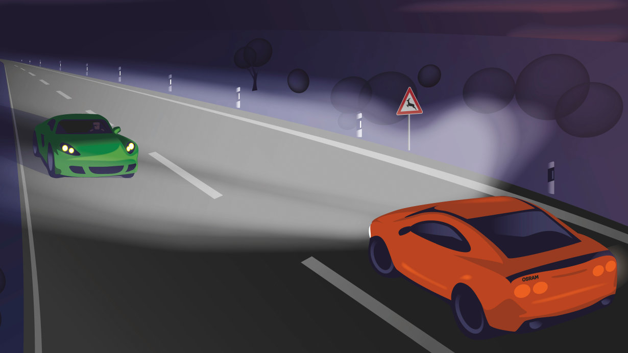 New automotive lighting revolutionizes road safety