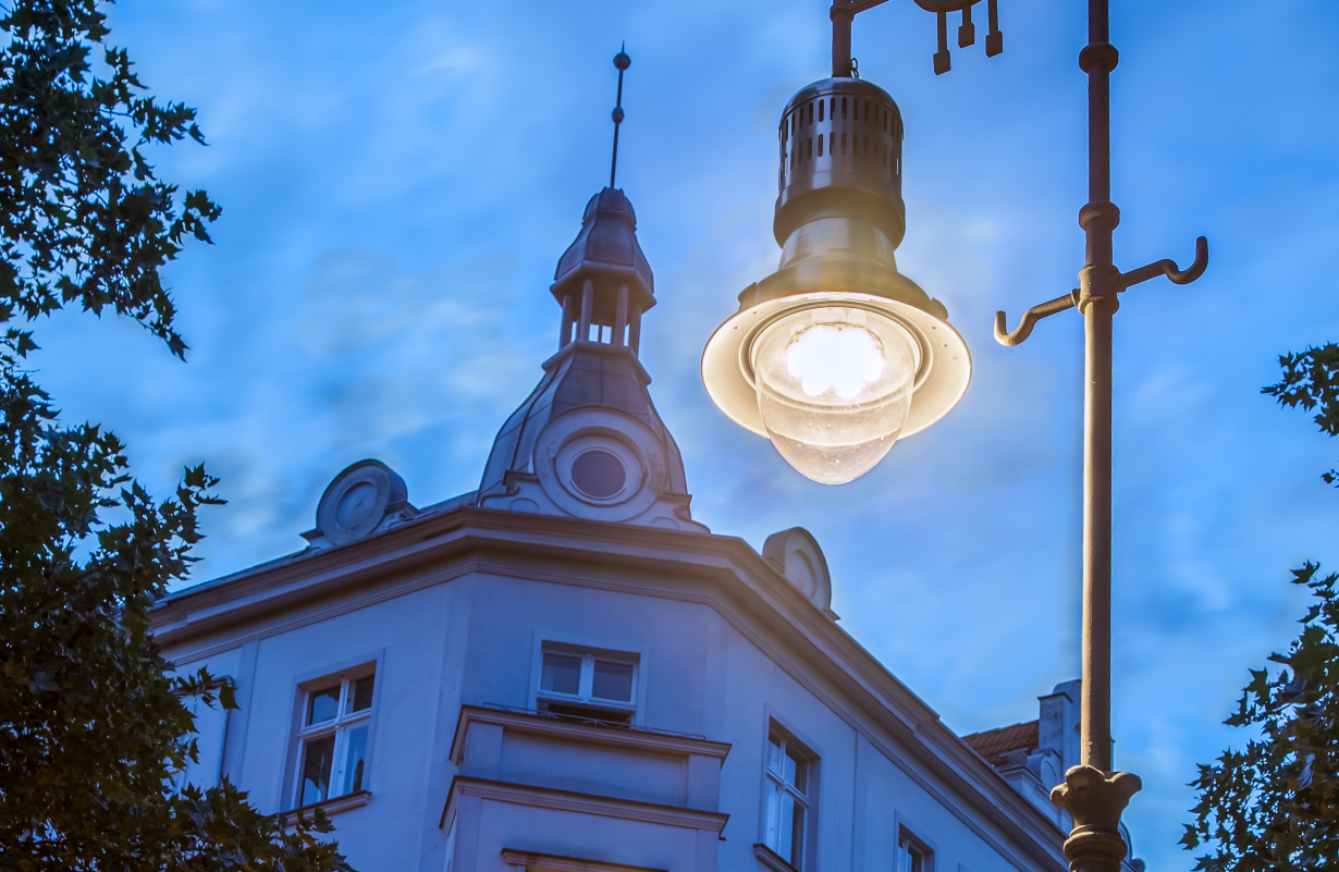 Selux Lighting Osram Revitalizes Ancient Street Lighting With Led