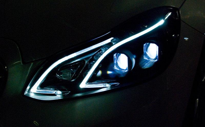 Image result for bend lighting LED headlamps.