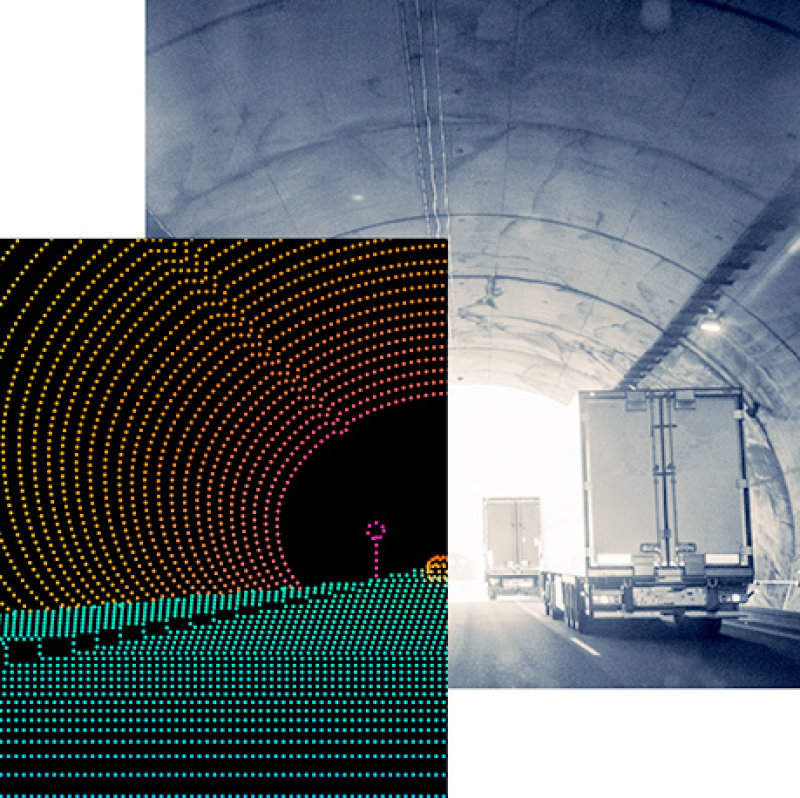 LiDAR Tunnel Perspective