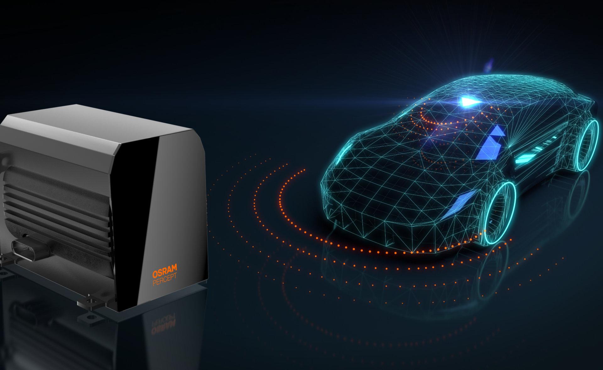 OSRAM LiDAR percept platform