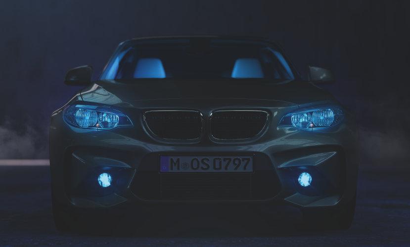 Iluminación LED exterior basada en aplicación