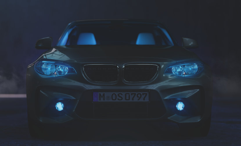 App-based LED exterior lighting
