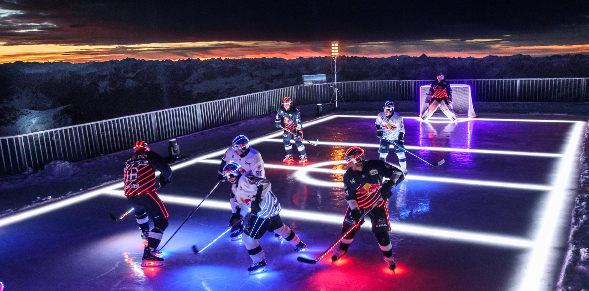 Spectacular event at the top of the Zugspitze: High-performance sport meets high-performance lighting