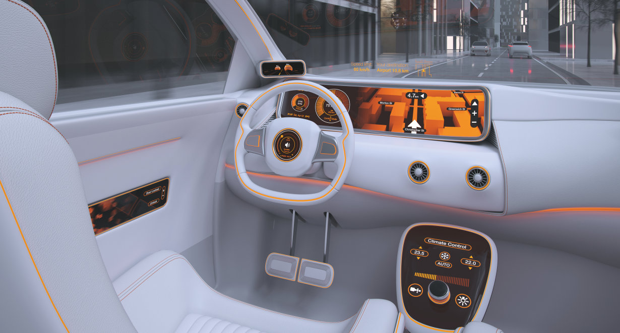 Infinite lighting solutions for automotive applications