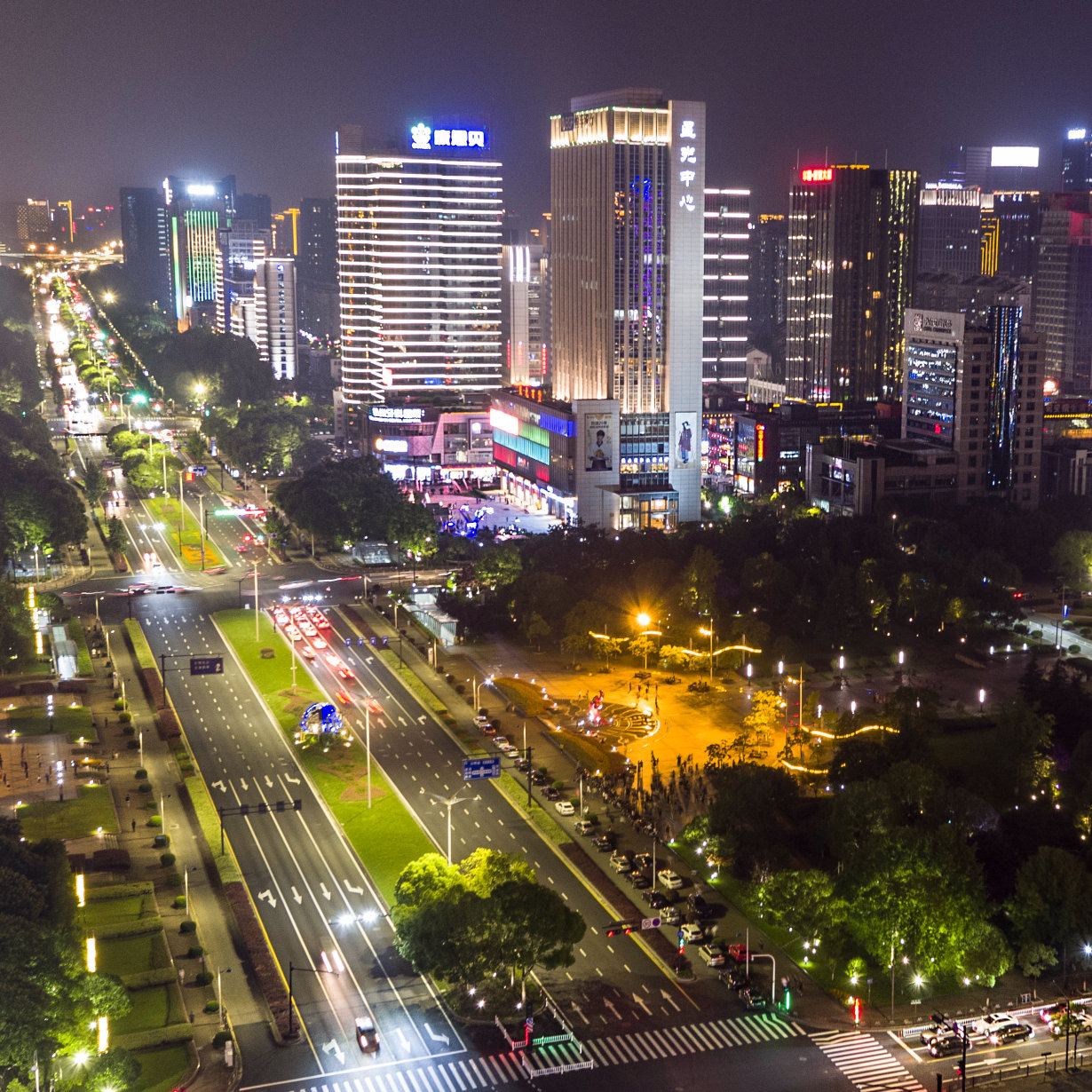 Osram Opto Semiconductors Illuminates Jiangnan Avenue in Hangzhou, China