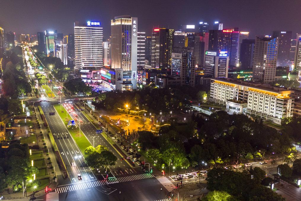 Osram Opto Semiconductors Illuminates Jiangnan Avenue in Hangzhou, China