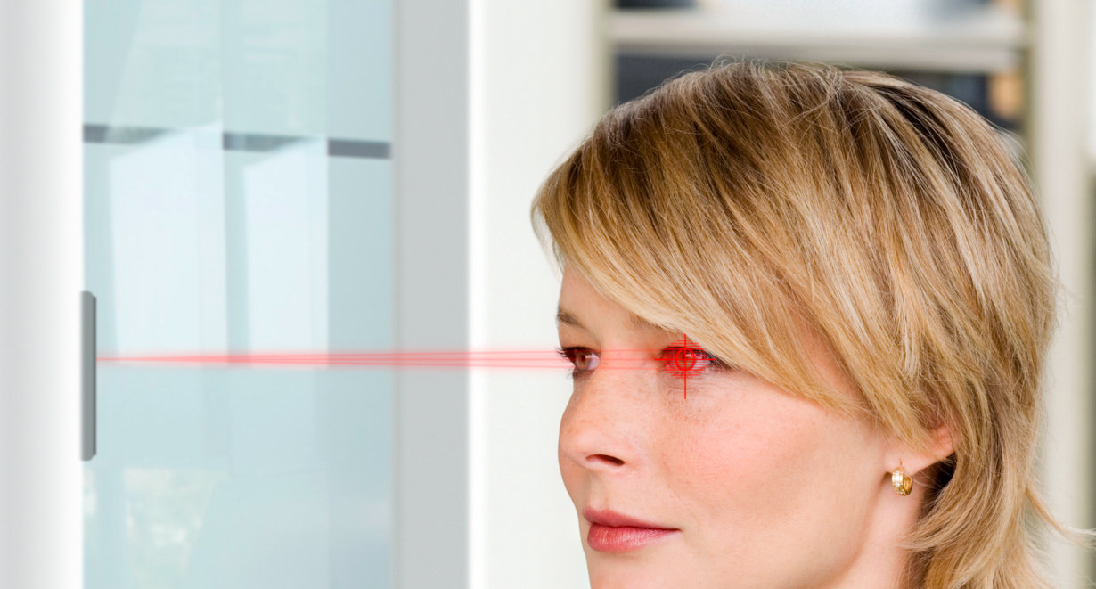 Iris Scan & Facial Recognition