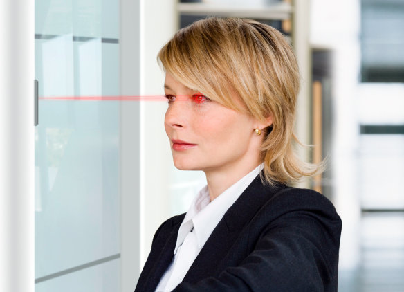 """Press release: """"Safety in focus: infrared LED for iris scanners protects against intruders"""""""