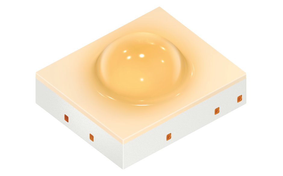 The Osconiq P2226 is the first in Osram Opto Semiconductors' new series for professional applications.