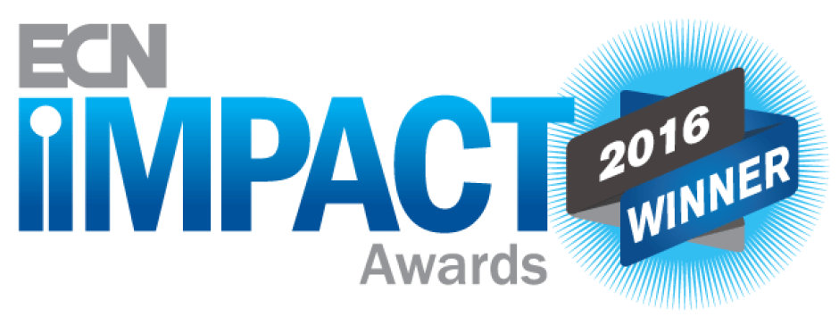 The ECN Impact Awards logo