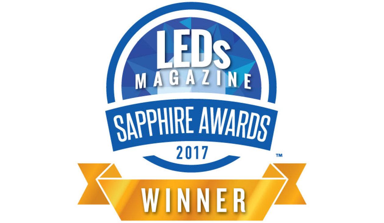 The 2017 Sapphire Awards winner logo