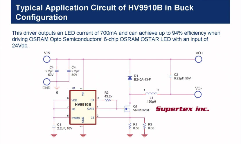 Driving LEDs Switch Mode Drivers - LED Fundamental Series by OSRAM Opto Semiconductors