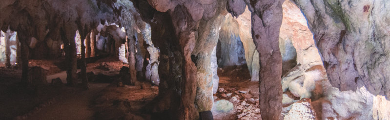 Magical cave illumination despite the harsh environment with OSRAM's Duris P5