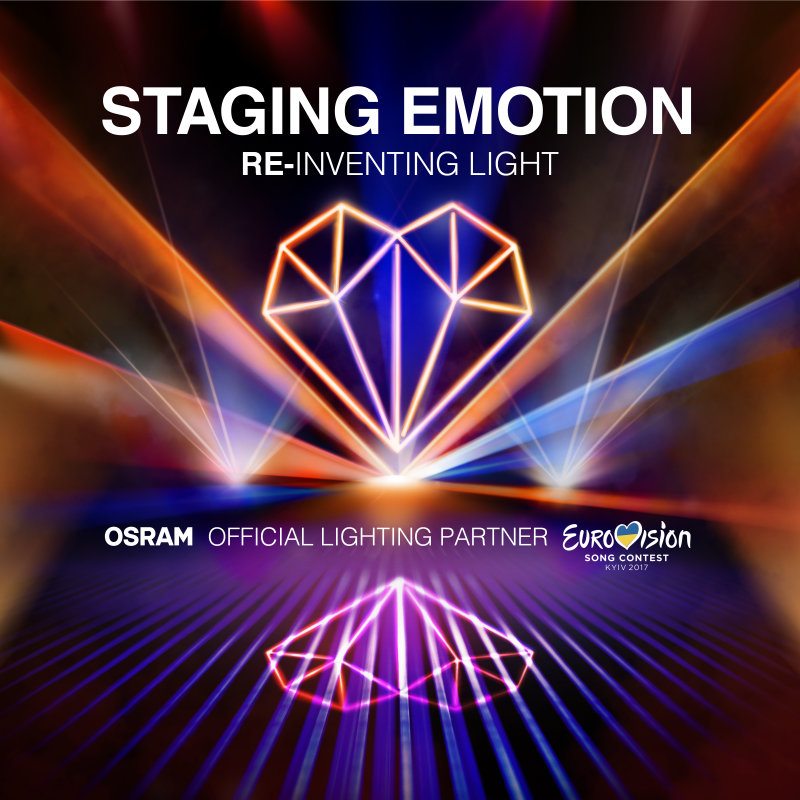 STAGING EMOTION - OSRAM auf dem Eurovision Song Contest 2017 in Kiew
