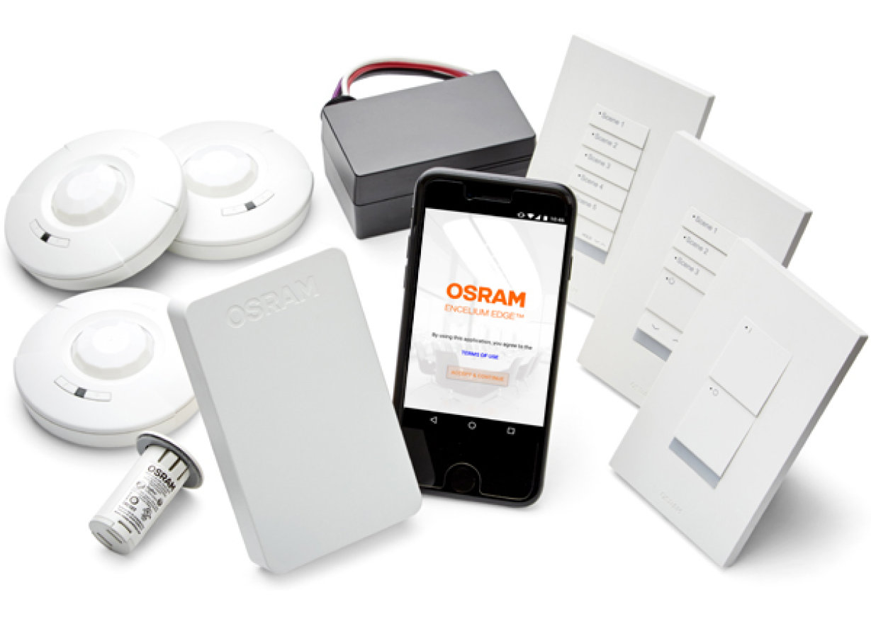 ENCELIUM EDGE Standalone Wireless Light Management System