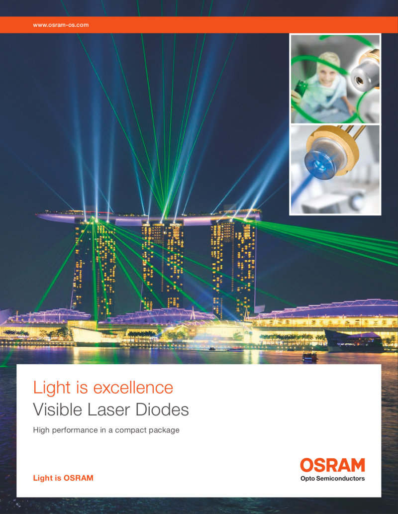 Download: Visible InGaN Laser Diodes Product Flyer