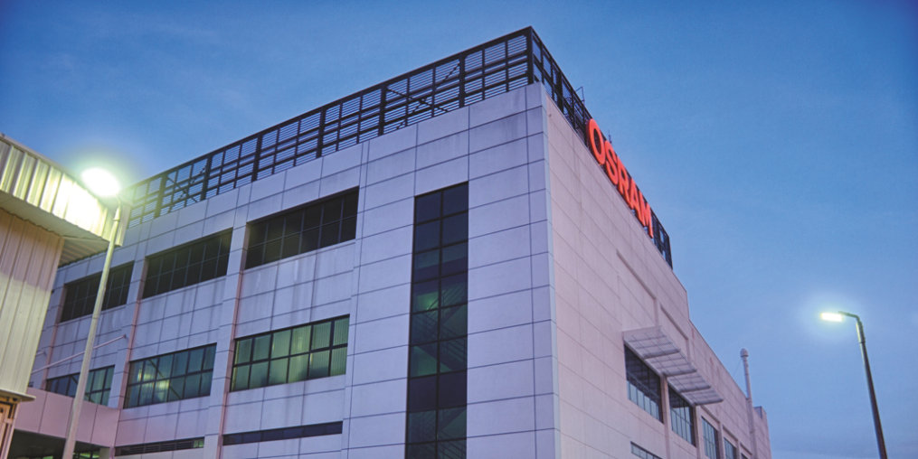 "Pen32, Osram Opto Semiconductors' new wafer production building, is certified as ""green"" from design to construction."
