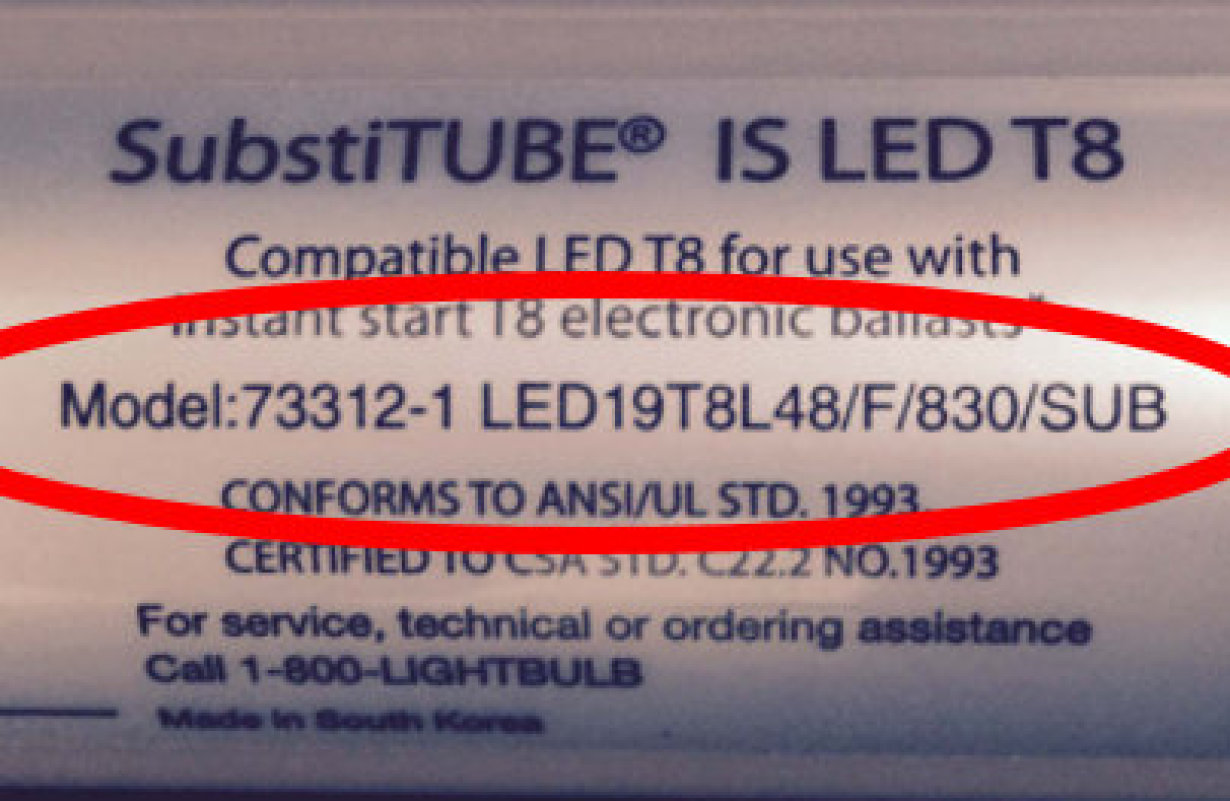 Lamp Label