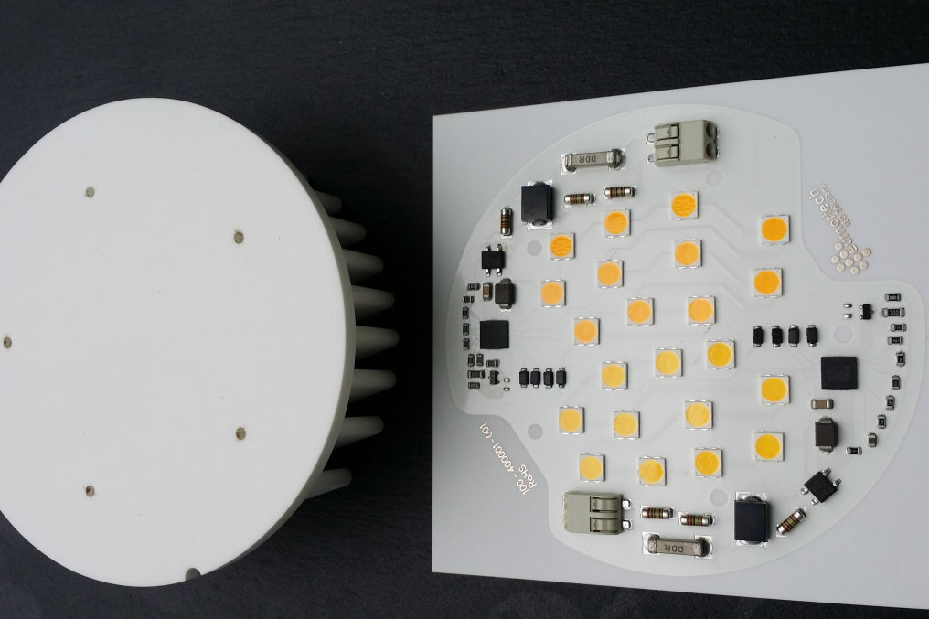 3400lm with tuneable white as an AC LED solution is provided via our partner EuRepTech.