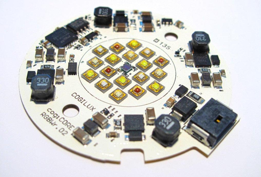 HSMtec PCBs enables smart Zhaga Multicolor Module