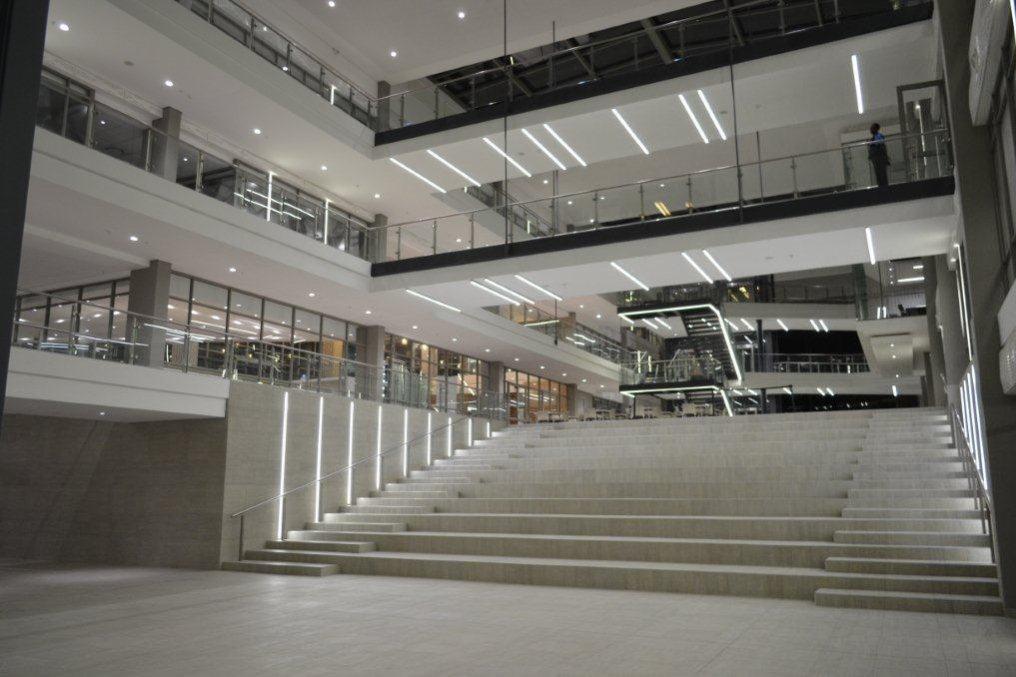 New highlight from our partner LEDwise Lighting (Pty) Ltd.: LED downlights for Group5 Head Office, Johannesburg