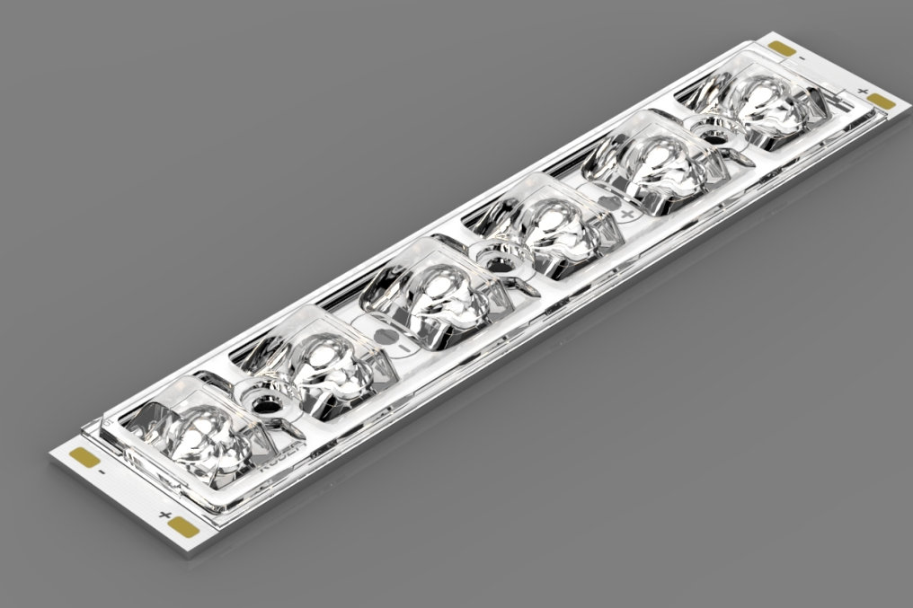 It's showtime for the new highlight from our partner CEZOS: 130 x 25,5 mm Street Light LED module.