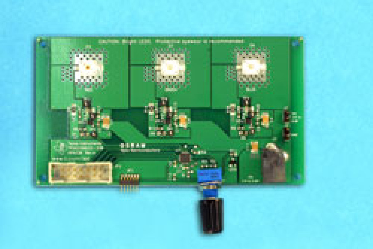 Led Mixing Color Lighting Board Light For You Tri Circuit Encoder With Rf Remote Controlled