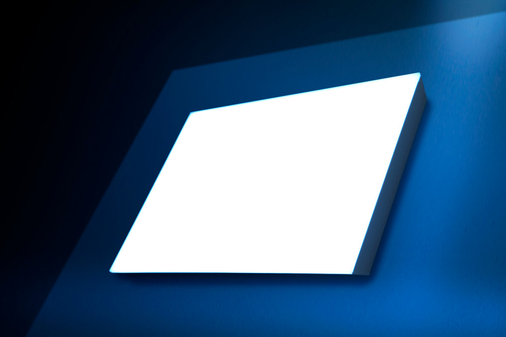 Modular and superflat LED Light Panel System from MENTOR
