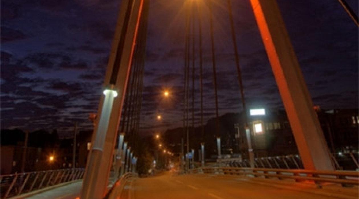 Storchenbrücke Winterthur/Switzerland – High-efficiency LED light emitter
