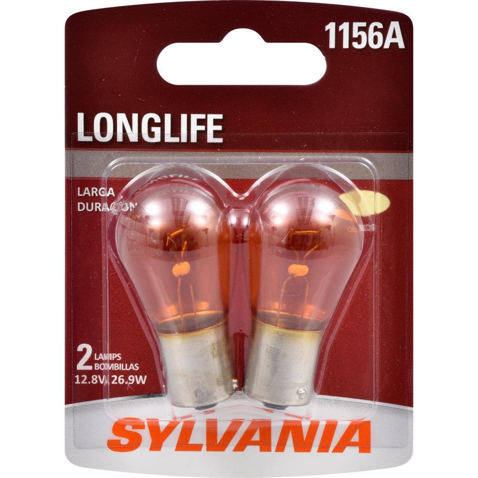 1156A (AMBER) Incandescent Bulb - LongLife