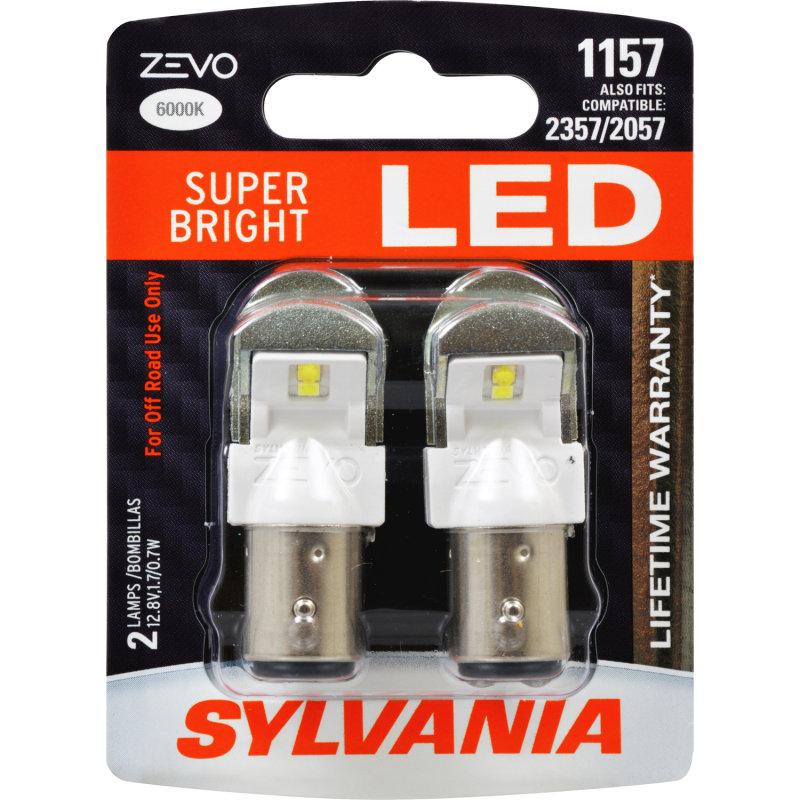 Sylvania Automotive Bulb Guide >> SUPER BRIGHT LED, Lifetime Warranty*, Improved Style & Safety -SYLVANIA 1157 ZEVO LED | SYLVANIA ...
