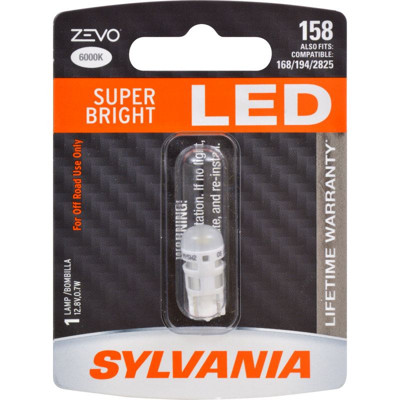 Sylvania 158 Long Life Mini Bulb Sylvania Automotive