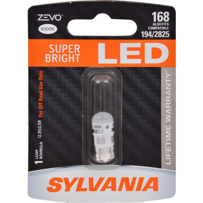 168 (WHITE) LED Bulb - ZEVO
