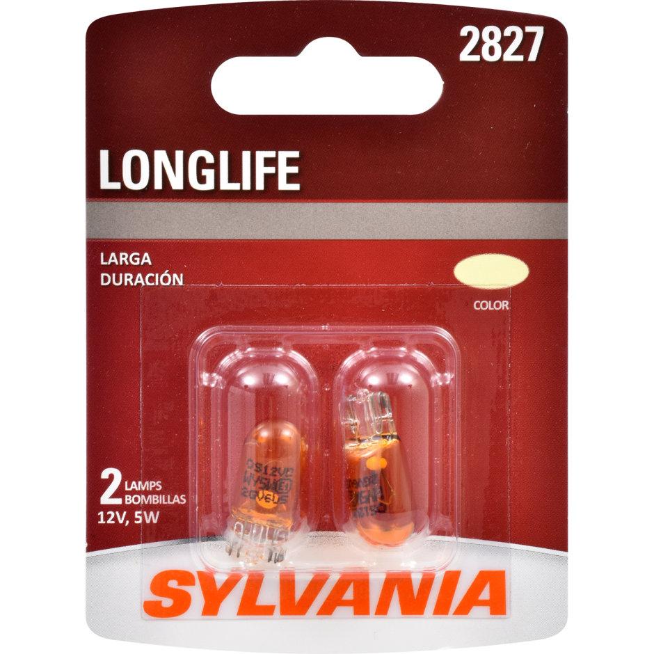 2827 (AMBER) Incadescent Bulb - LongLife