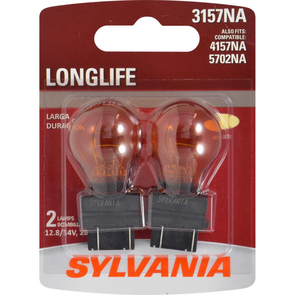 3157NA (AMBER) Incandescent Bulb - LongLife