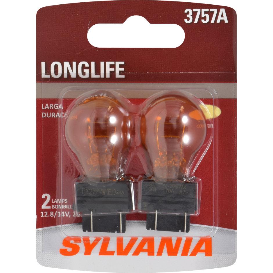 3757A (AMBER) Incandescent Bulb - LongLife