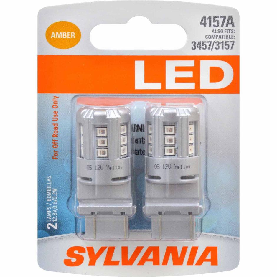 4157A (AMBER) LED Bulb
