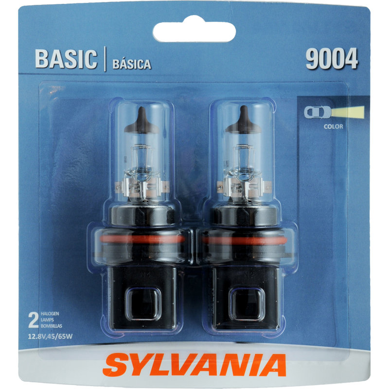 Sylvania 9004 Basic Headlight Bulb Sylvania Automotive