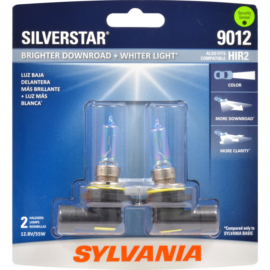 Whiter Light Xenon Fueled Hid Attitude Sylvania 9012