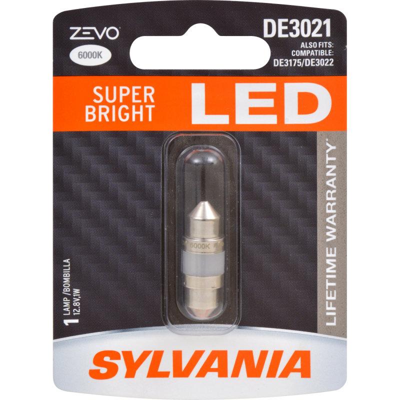 Super Bright Led Lifetime Warranty Improved Style Safety Sylvania De3021 Zevo Led Sylvania