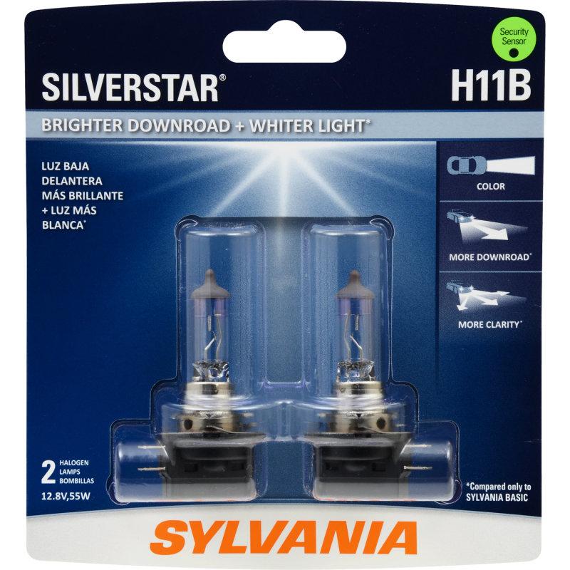 Sylvania Automotive Bulb Guide >> More Downroad, Whiter Light, More Clarity - SYLVANIA H11B SilverStar Headlight | SYLVANIA Automotive