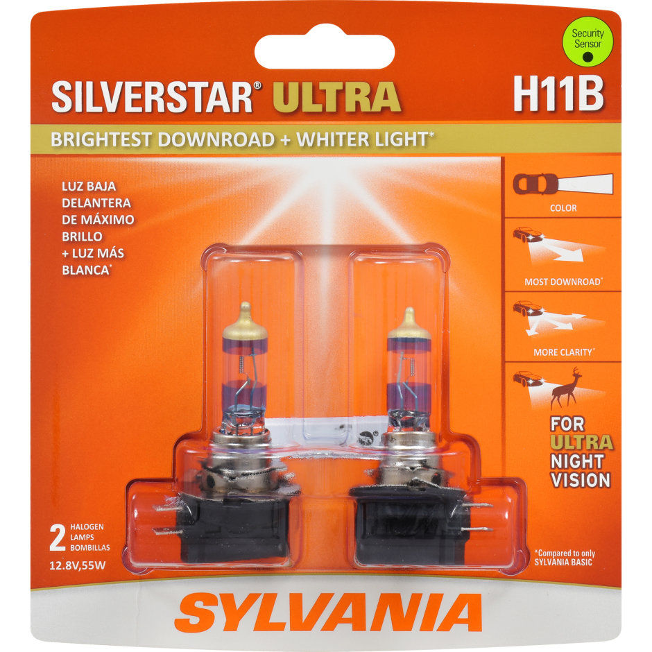Sylvania H11b Basic Headlight Bulb Sylvania Automotive