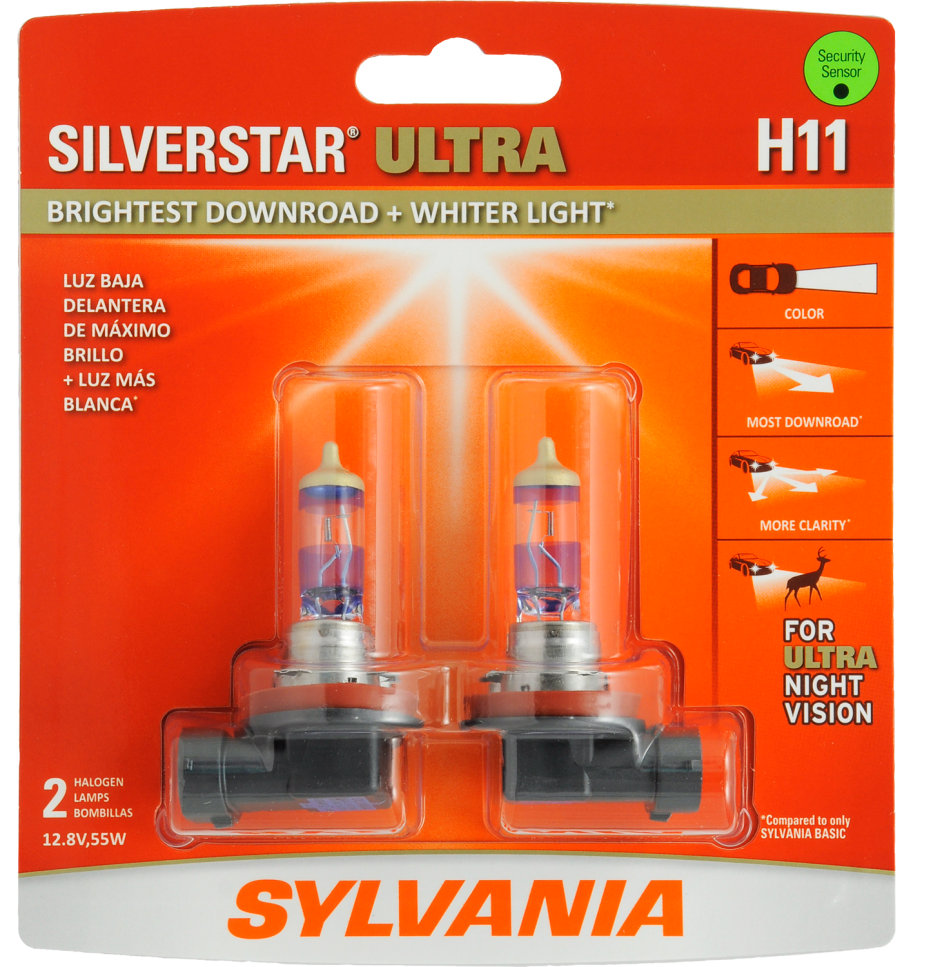 H11 Bulb - Silverstar Ultra