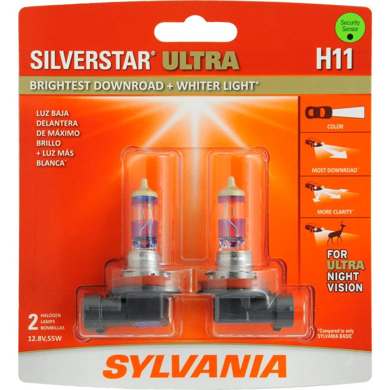 SYLVANIA SilverStar Ultra H11 Headlight Bulbs