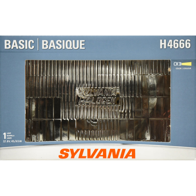 Sylvania H4666 Basic Headlight Bulb Sylvania Automotive