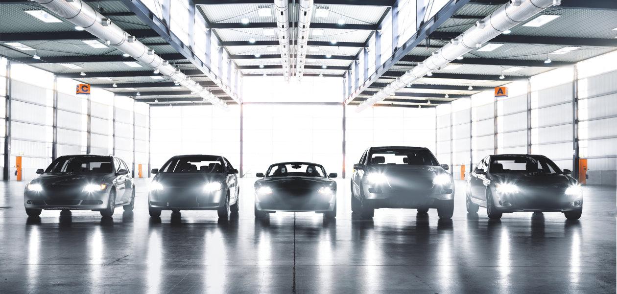 Různé vozy, různé světlomety, různé požadavky