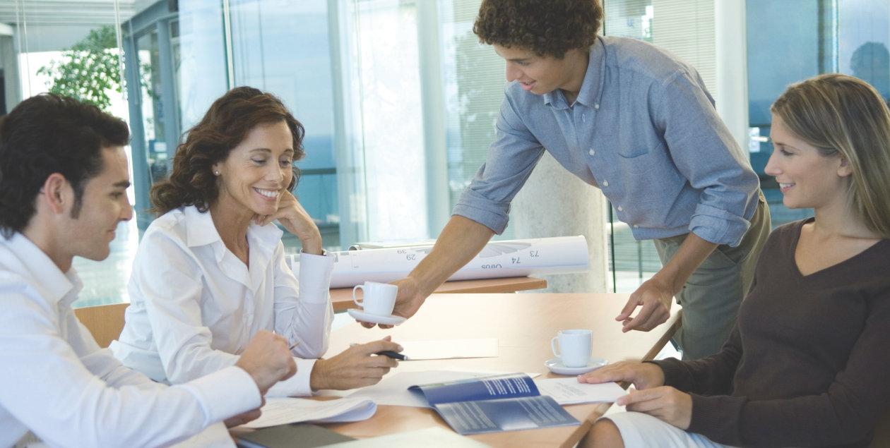 Company - Working together = Progress