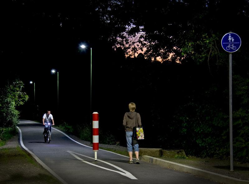 LED street lighting in Wipperfürth - Wipperfürth, Germany